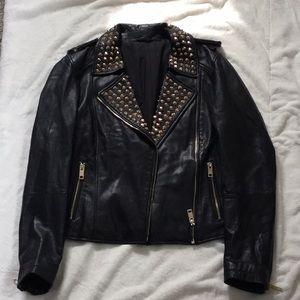 Jackets & Blazers - VINTAGE  Lambskin leather jacket